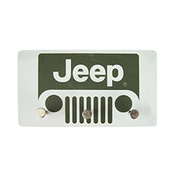 Porta Chaves de Metal Jeep Grande