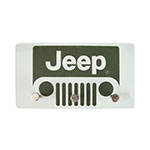 Porta Chaves de Metal Jeep Grande