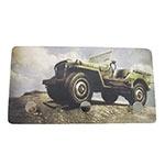 Porta Chaves de Metal Jeep Montanha - 3 Pinos - 15x8 cm