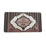 Porta Chaves de Metal Paris Chocolat - 3 Pinos - 15x8 cm