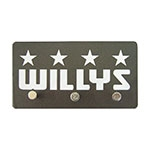 Porta Chaves de Metal Willys - 14,5x8 cm