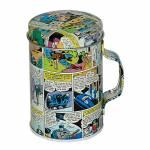Porta Condimentos DC Comics Colorido em Metal - Urban - 9,8x6,6 cm