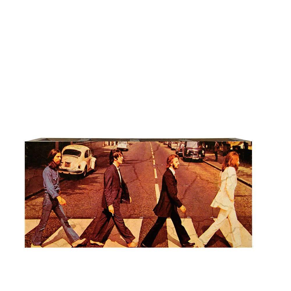 Porta Controles The Beatles em Madeira - 22x9,5 cm