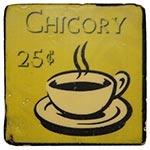 Porta-Copo Café Chicory Amarelo Oldway em Resina