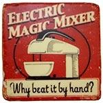 Porta-Copo Eletric Magic Vermelho Oldway em Resina