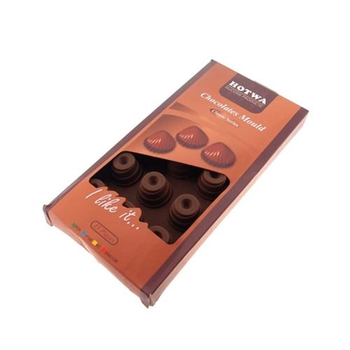 Porta Gelo Barra de Chocolate em Silicone - 22x11 cm