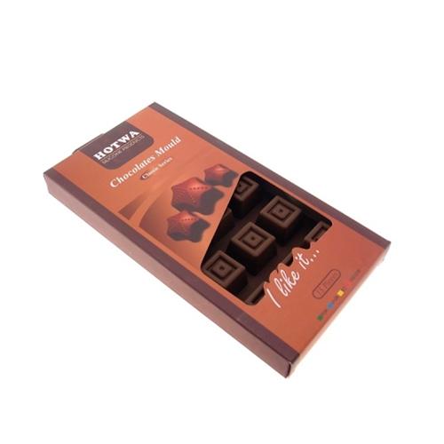 Porta Gelo Cubos de Chocolate em Silicone - 22x11 cm
