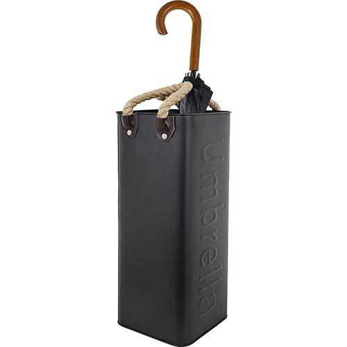 Porta Guarda-Chuva Umbrella Preto Fullway - 56x23 cm