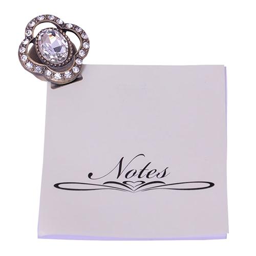 Porta Notas Hine Stone em Metal - 4x3 cm