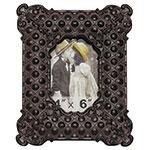 Porta-Retrato Classic Oldway - 10x15 cm - Preto em Metal