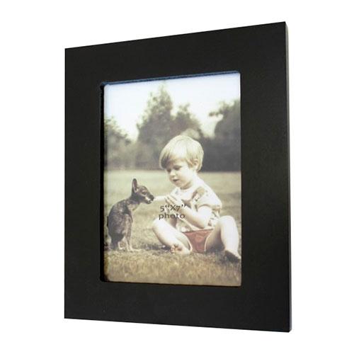 Porta Retrato Black em Madeira - 23x18 cm