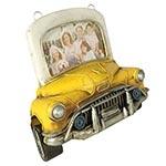 Porta-Retrato Frente Carro Amarelo Oldway em Metal