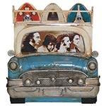 Porta-Retrato Frente de Carro Azul c/ Pranchas Oldway