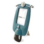 Porta Retrato Motocicleta Azul
