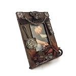 Porta-Retrato Harley Davidson Oldway Marrom em Metal