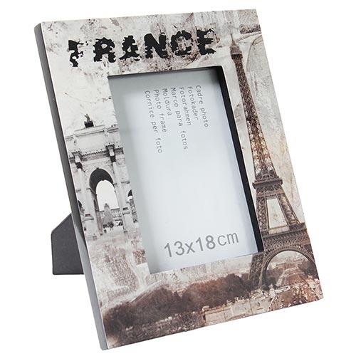 Porta-Retrato France Fullway Sépia em Laca - 27x22 cm