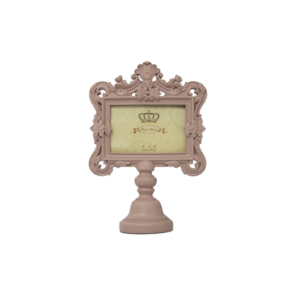 Porta Retrato Pedestal Rose Golden