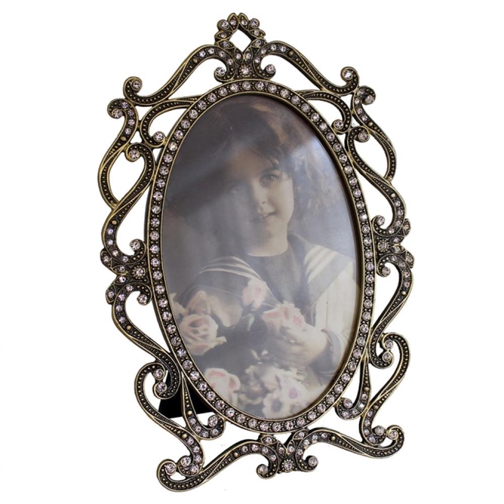 Porta Retrato Pedraria Louise II (10X15)