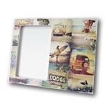 Porta-Retrato Surf - Foto 10x15 cm - em MDF - 24x19 cm