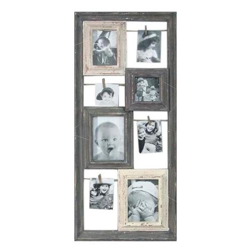 Porta Retrato Varais em Quadro em Madeira - 87x38 cm