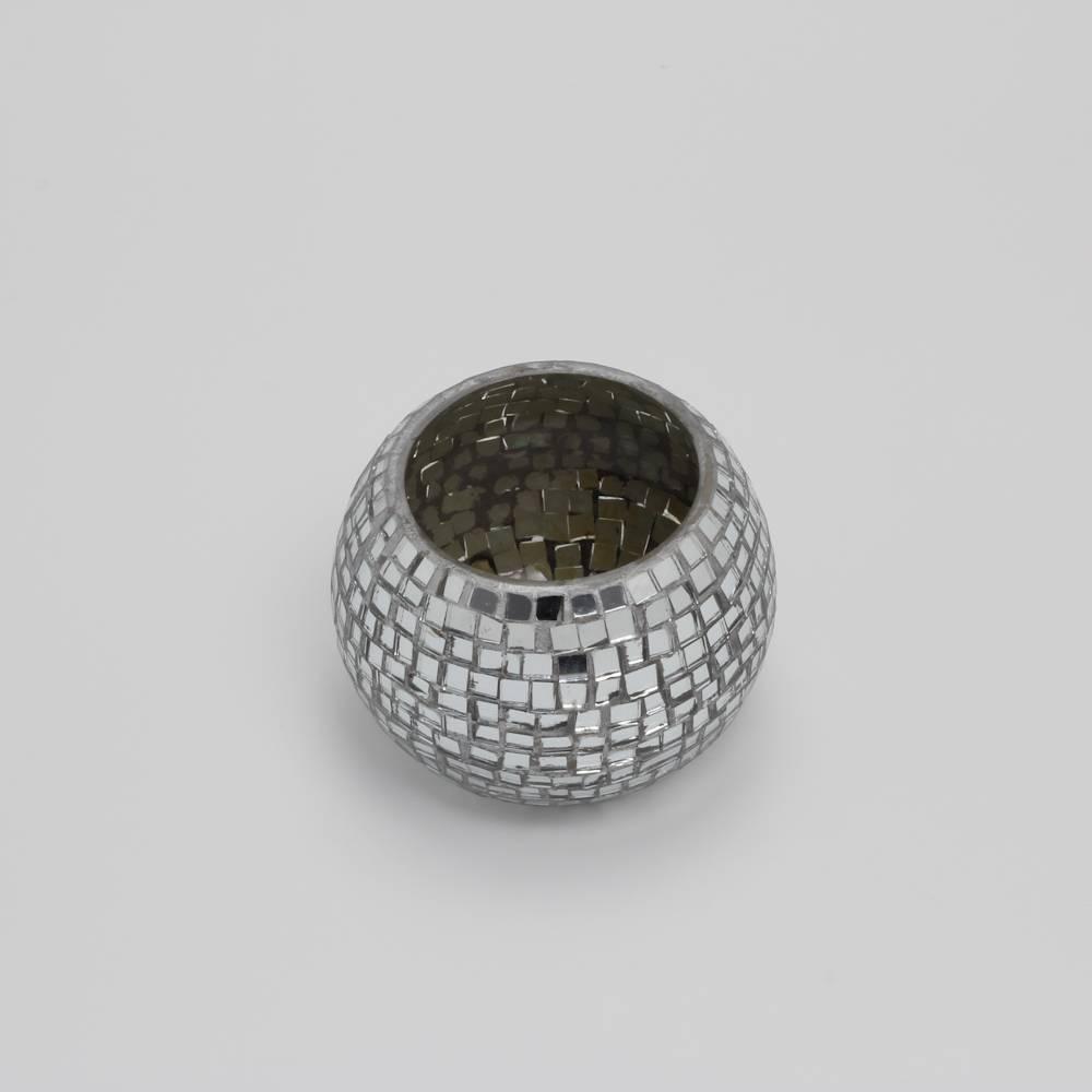 Castiçal Mosaic Votice Redondo - Prestige - 10 cm