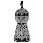 Porta Vinagre/Azeite Gourmet Metalic em Cerâmica