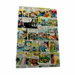 Porta-Chaves 6 Ganchos DC Comics em Madeira - Urban - 31x21 cm