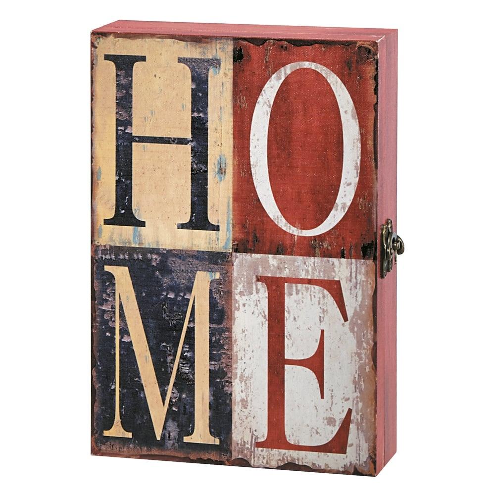 Porta-Chaves Home Multicolorido em MDF - 32x22 cm