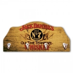 Porta-Chaves Jack Daniels Tennessee Marrom - 4 Ganchos - em MDF - 29x21 cm