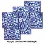 Porta-Copos Indigo Portuguese Tile Azul em Cerâmica - Urban
