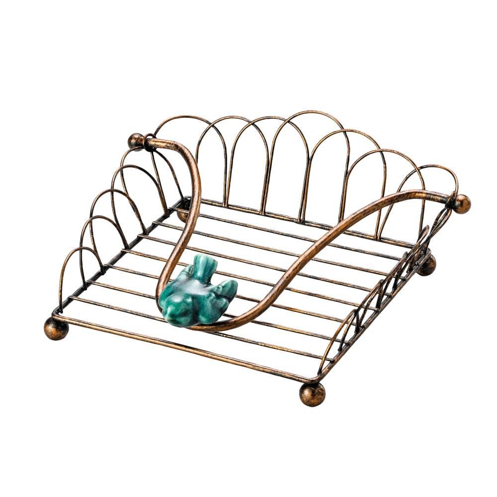 Porta-Guardanapos Pássaro Azul em Ferro - Lyor Classic
