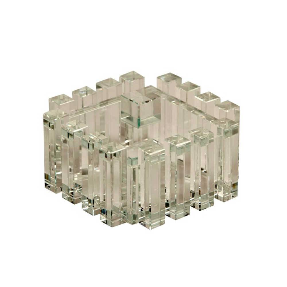 Porta-Joias Rameau em Cristal - 13x8 cm