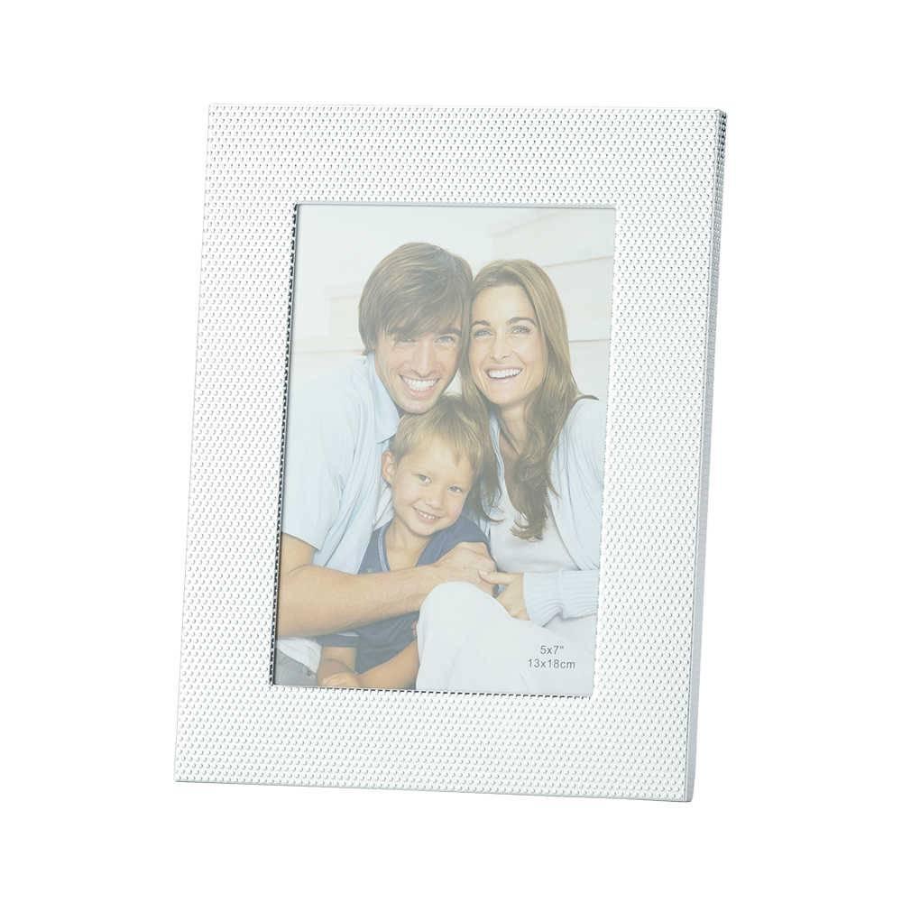 Porta-Retrato Balls em Alumínio para Foto 15x20 cm - Lyor Classic - 27x22 cm