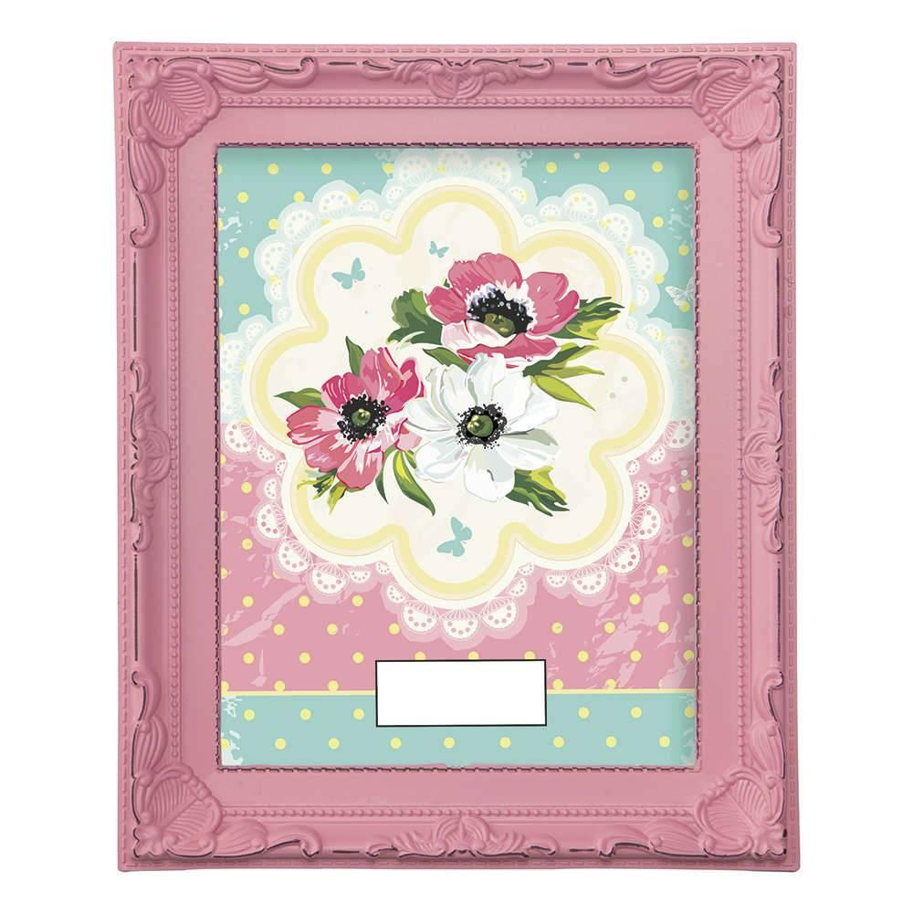 Porta-Retrato Candy 20x25 cm Rosa - 28x23 cm