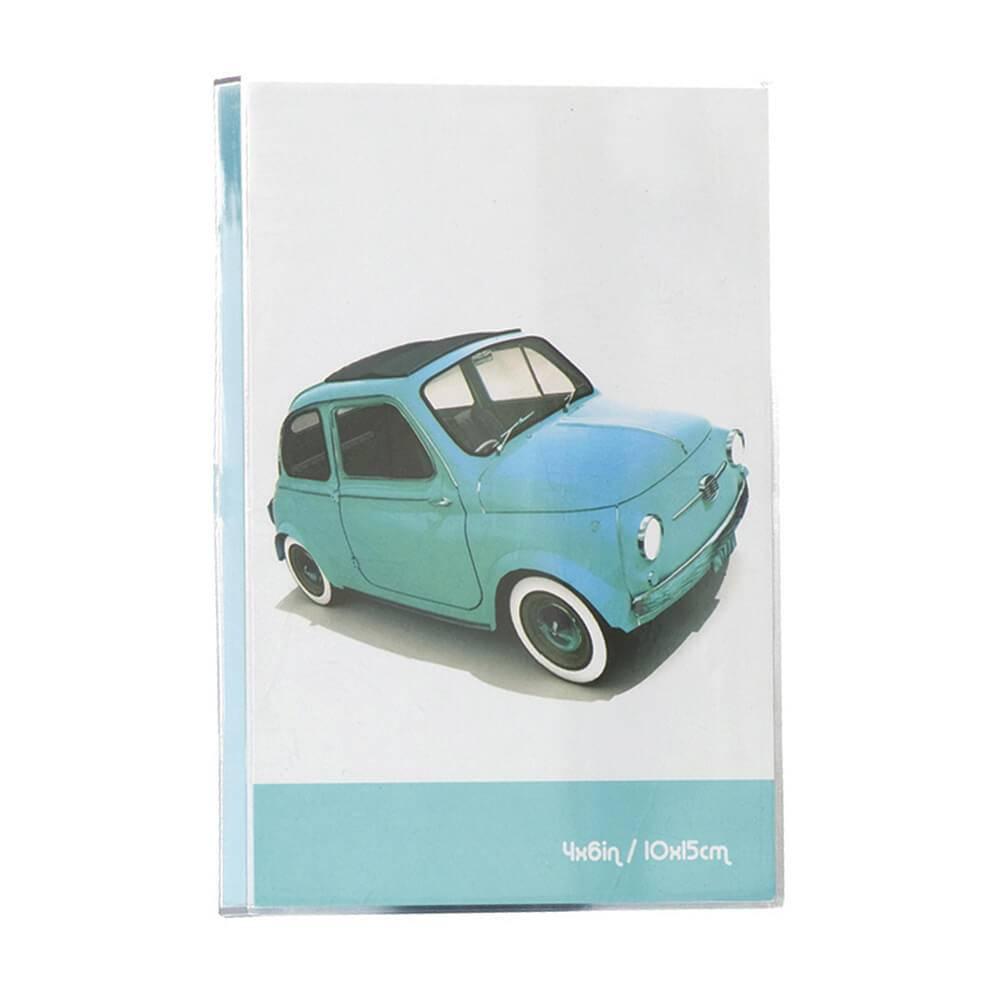 Porta-Retrato Cars Azul em Polipropileno - Urban - 18x15,6 cm