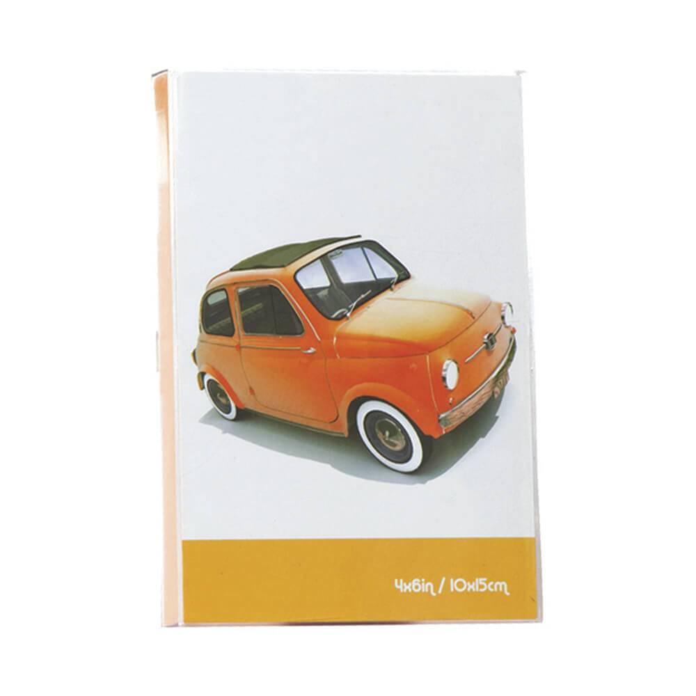Porta-Retrato Cars Laranja em Polipropileno - Urban - 18x15,6 cm
