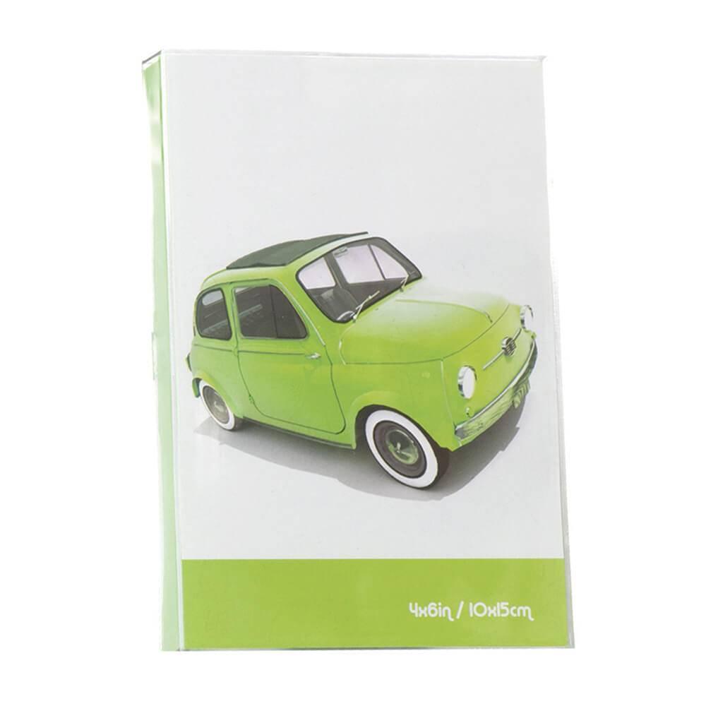 Porta-Retrato Cars Verde em Polipropileno - Urban - 18x15,6 cm