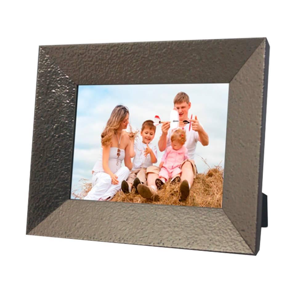 Porta-Retrato Chanfrado Bronze - 20x25 - em Madeira - 29x24,5 cm