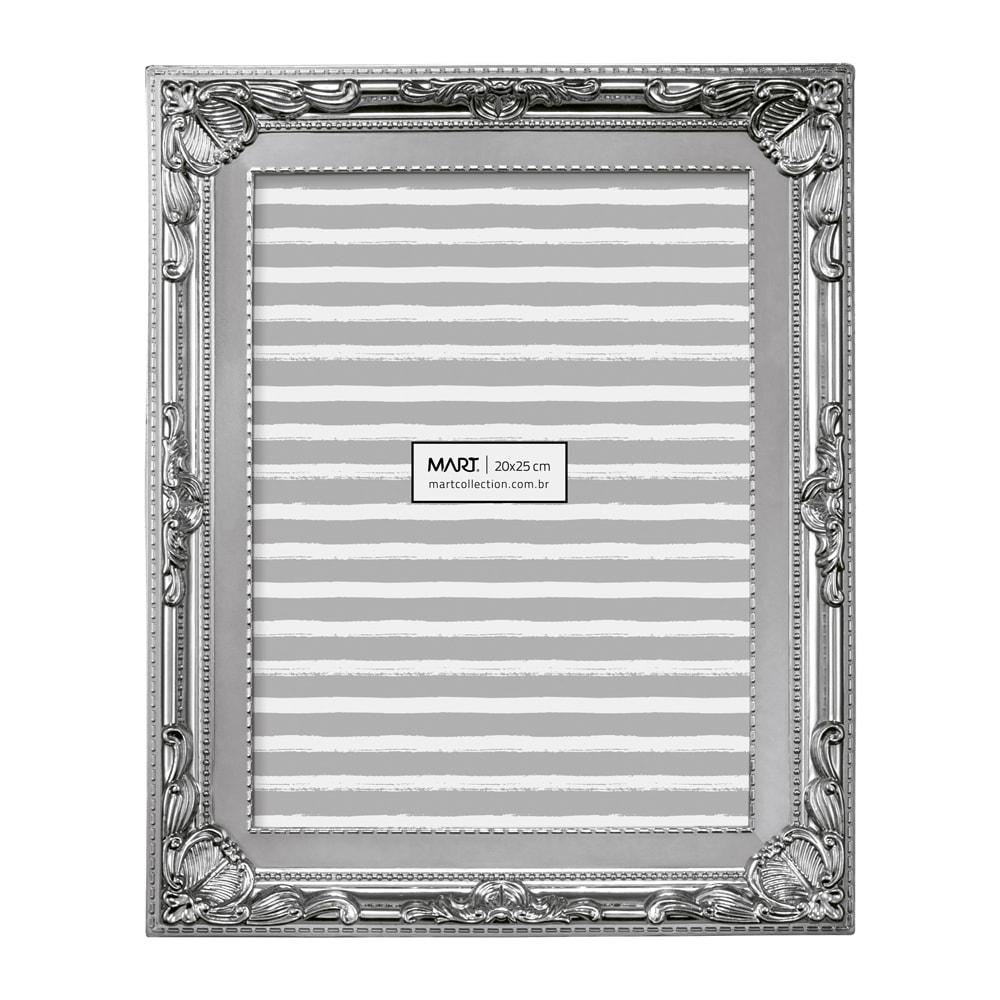 Porta-Retrato Classic - Foto 13x18 cm - Prata - 23x17,5 cm