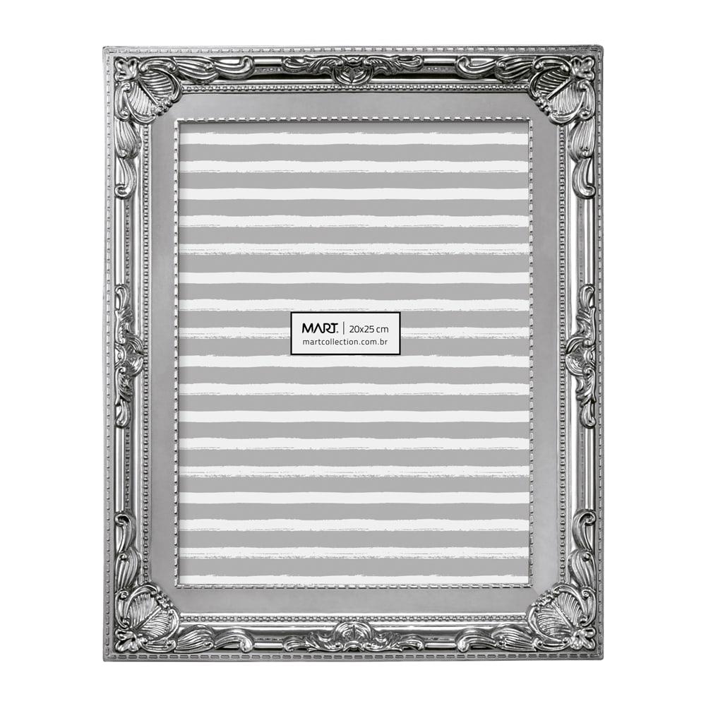 Porta-Retrato Classic - Foto 20x25 cm - Prata - 28x23 cm