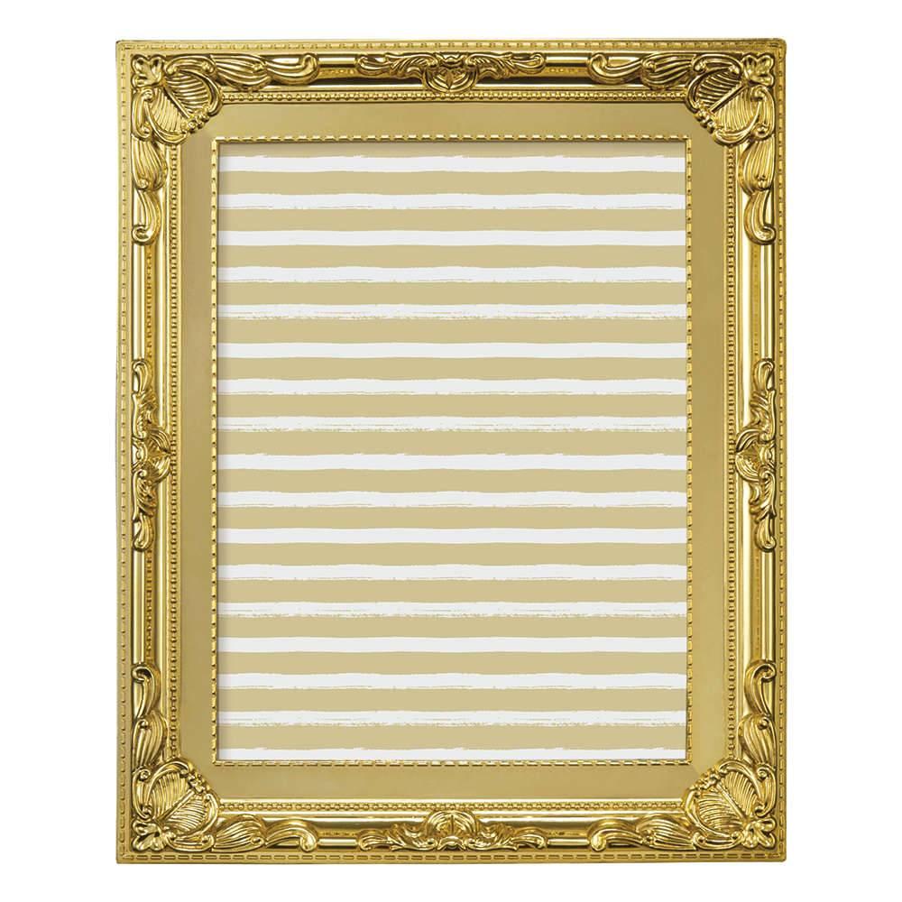 Porta-Retrato Elegance 10x15 cm Dourado - 19,5x14,5 cm