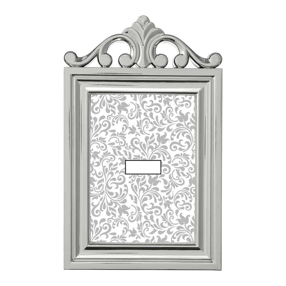 Porta-Retrato Elegance 13x18 cm Prata - 29x18 cm