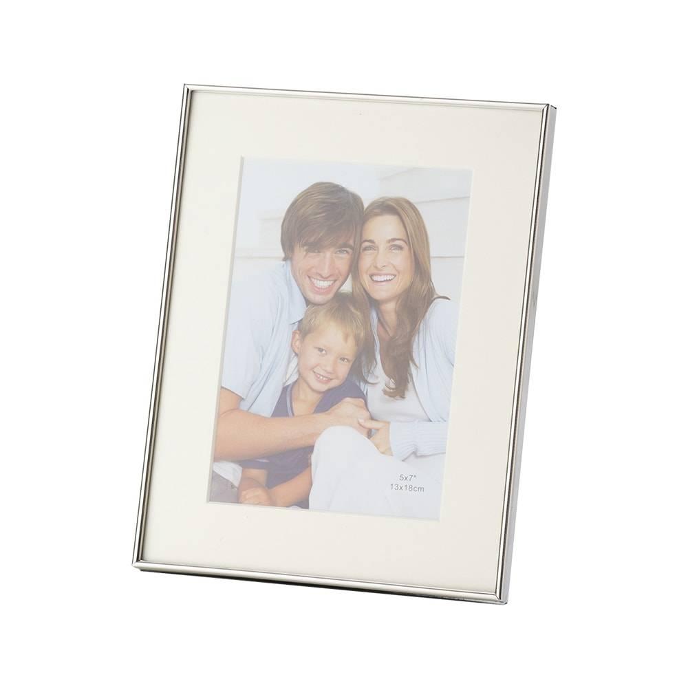 Porta-Retrato Florence em Ferro para Foto 15x20 cm - Lyor Classic - 24x19 cm