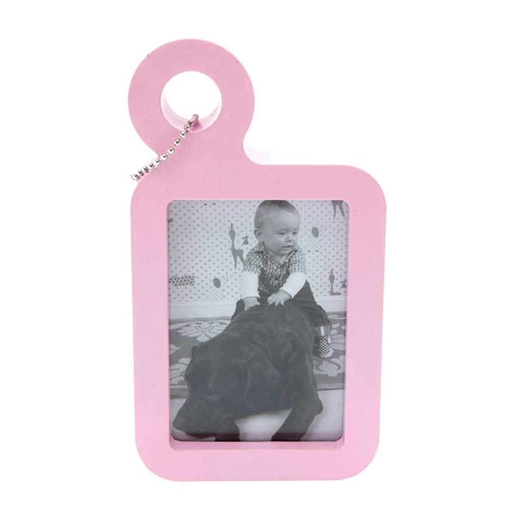 Porta-Retrato Formato Etiqueta para Mala Rosa - Urban - 21,5x12 cm