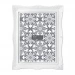 Porta-Retrato Frame - Foto 15x20 cm - Branco - 24,5x19,5 cm