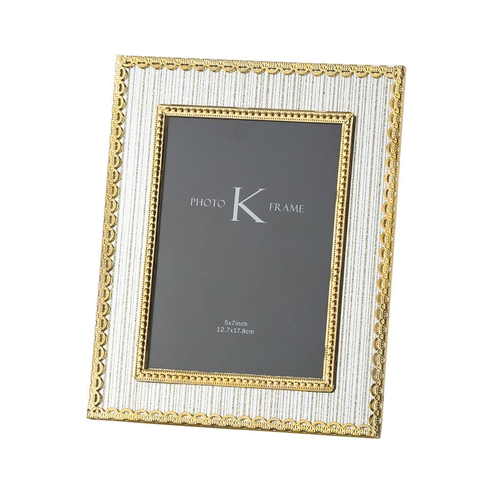 Porta-Retrato Golden em Vidro para Foto 20x25 cm - Lyor Classic - 28x23 cm
