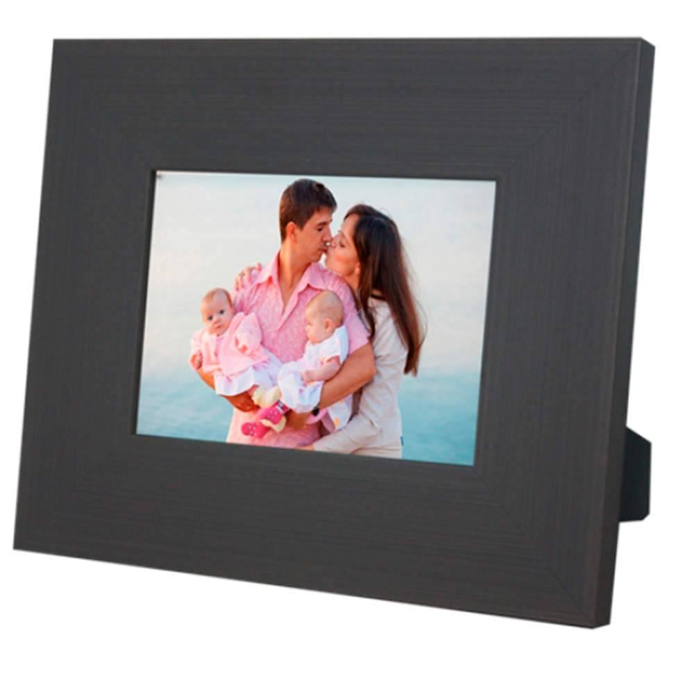 Porta-Retrato Large Marrom Escuro - 15x21 - em Madeira - 27x21 cm