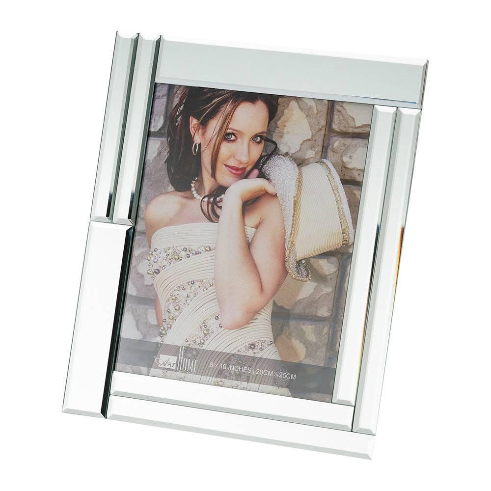 Porta-Retrato Mirror Grande - 15x20 cm - em Vidro - Prestige