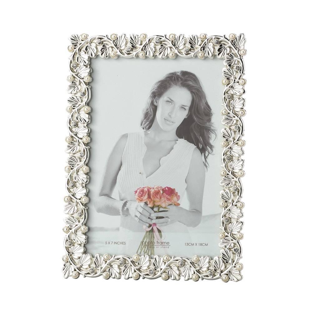 Porta-Retrato Montreau em Zamac para Foto 10x15 cm - Lyor Classic - 23x18 cm