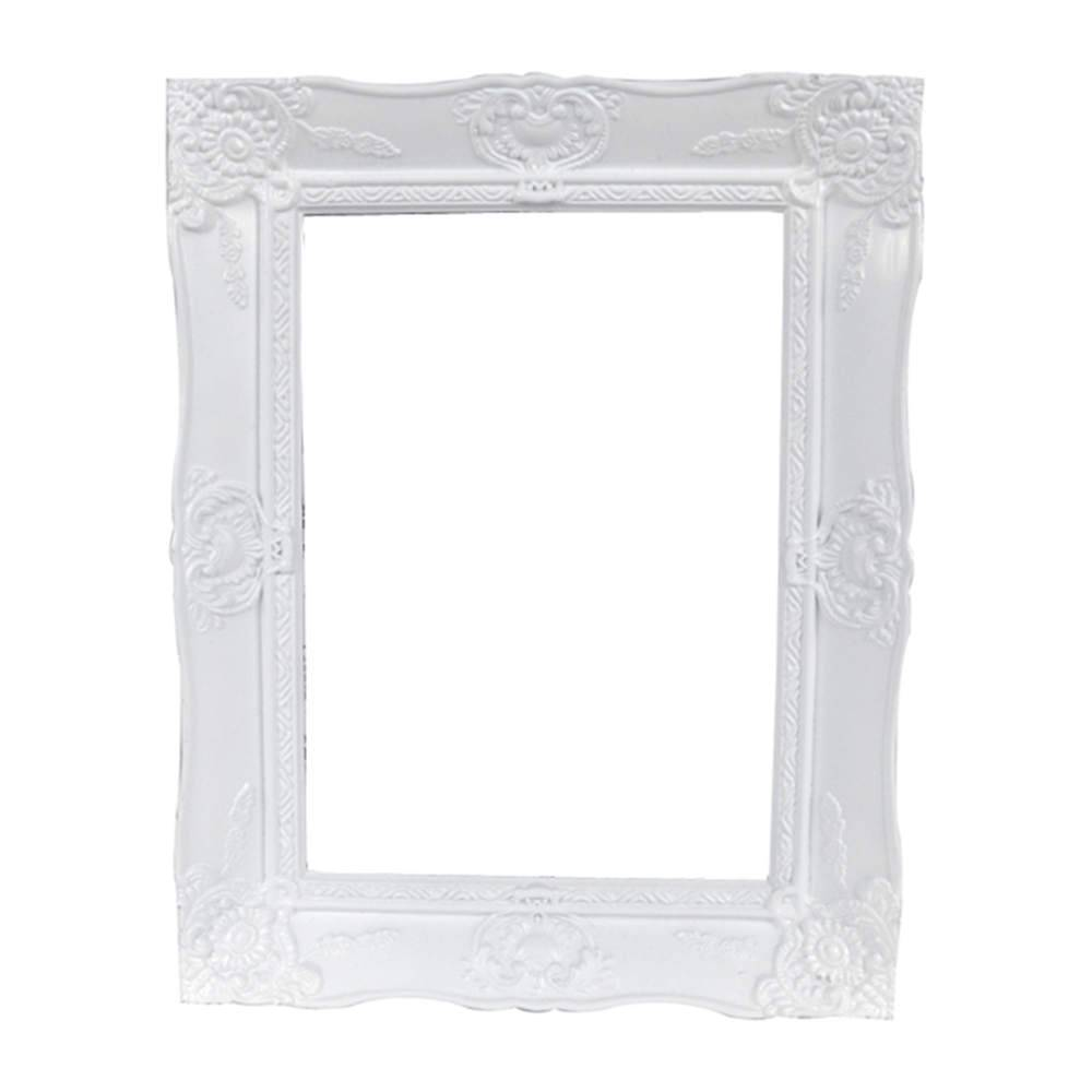 Porta-Retrato New Cirque Branco em Polipropileno - Urban - 18x13 cm
